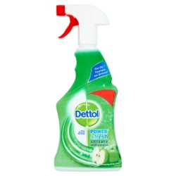 Dettol Power & Fresh Advance Multi-Purpose Refreshing Green Apple 500ml