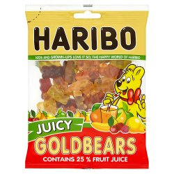 HARIBO Juicy Goldbears Bag 150g