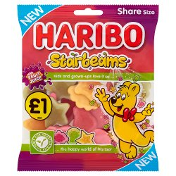 HARIBO Starbeams Bag 160g £1PM