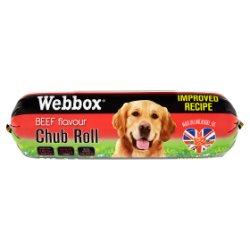 Webbox Beef Flavour Chub Roll 800g