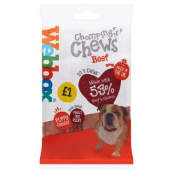 Webbox Prime 20 Chomping Chews with Beef 200g