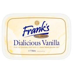Frank's Ice Cream Dialicious Vanilla 1 Litre