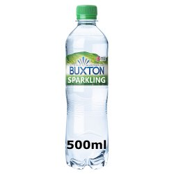 Buxton Natural Mineral Sparkling Water 50 cl Single PET
