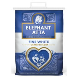Elephant Atta Fine White Chapatti Flour 10kg