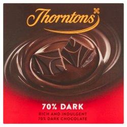 Thorntons 70% Dark Chocolate Block 90g