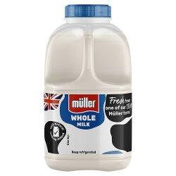 Müller Wiseman Dairies Pasteurised Whole Milk 1 Pint/568ml