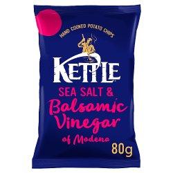 KETTLE® Chips Sea Salt & Balsamic Vinegar of Modena 80g