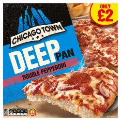Chicago Town The Deep Pan Pepperoni PM GBP2