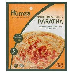 Humza Premium Food Products 5 Wholemeal Lacha Paratha 400g