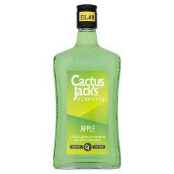 Cactus Jack's Schnapps Apple 50cl
