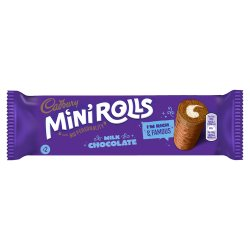 Cadbury Milk Chocolate Mini Rolls x 2