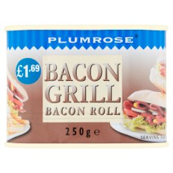Plumrose Bacon Grill Roll 250g