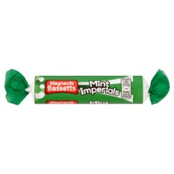 Maynards Bassetts Mint Imperials Roll 40g