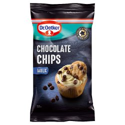 Dr. Oetker Milk Chocolate Chips 100g