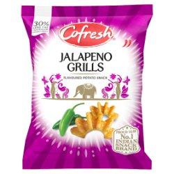 Cofresh Jalapeno Grills Flavoured Potato Snack 28g