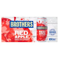 Brothers Red Apple English Cider 10 x 440ml