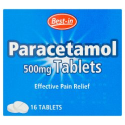 Best-in Paracetamol 500mg Tablets 16 Tablets