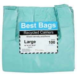 Best Bags 100 Large Recycled Carriers