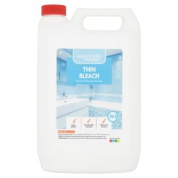 Essentially Cleaning Thin Bleach W4 5L