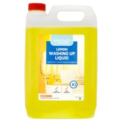 Essentially Cleaning Lemon Washing Up Liquid K2 5L