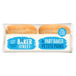 Baker Street 4 Part Baked Petits Pains