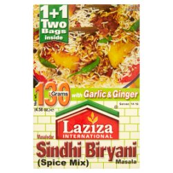 Laziza International Masaledar Sindhi Biryani Masala Spice Mix 130g