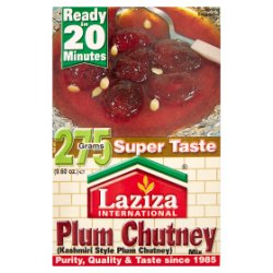 Laziza International Kashmiri Style Plum Chutney Mix 275g
