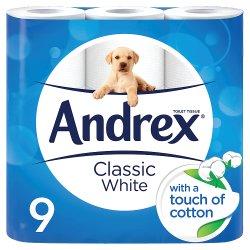 Andrex White 9pk