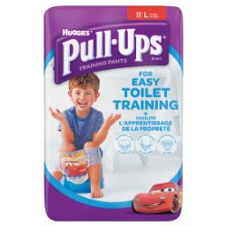 Huggies® Pull-Ups® Day Time Boys Size L (16-23kg, 24-40lbs) 12 Pants