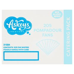 Askeys Creations 205 Pompadour Fans Catering Pack