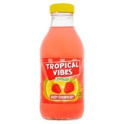 Tropical Vibes Lemonade Sassy Strawberry 300ml