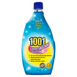 1001 Carpet Machine Solution 500ml
