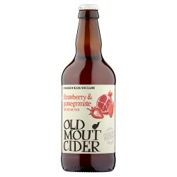 Old Mout Cider Strawberry & Pomegranate 500ml Bottle