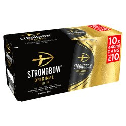 Strongbow Original Cider 10 x 440ml £10 PMP Cans