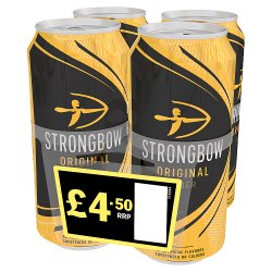 Strongbow Original Cider 440ml £4.50 PMP Cans