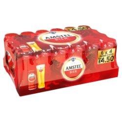 Amstel Bier Beer 24 x 440ml