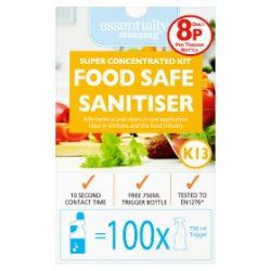 Essentially Cleaning Super Concentrated Kit Food Safe Sanitiser
