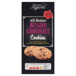 Best-One Inspired All Butter Belgian Chocolate Cookies 125g