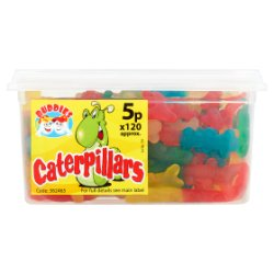 Buddies Caterpillars Fruit Flavour Sweets