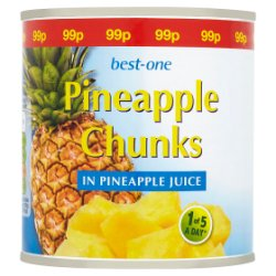 Best-One Pineapple Chunks in Pineapple Juice 425g