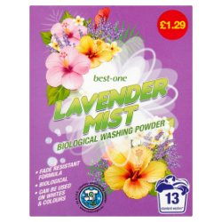 Best-One Lavender Mist Biological Washing Powder 884g
