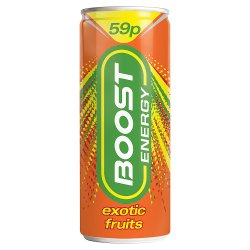 Boots Energy Exotic Fruits 250ml