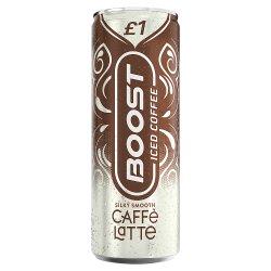 Boost Iced Coffee Caffè Latte 250ml