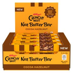 Kellogg's Crunchy Nut Butter Bar Cocoa Hazelnut 12 x 45g