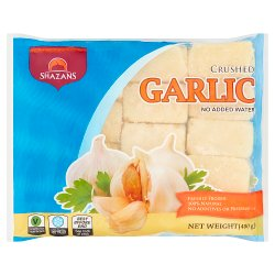 Shazans Crushed Garlic 400g