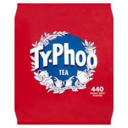 Typhoo 440 Single Serve Teabags 1kg