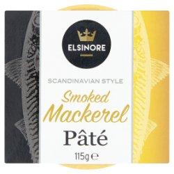 Elsinore Scandinavian Style Smoked Mackerel Pâté 115g