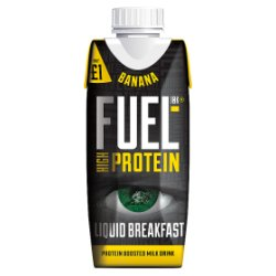 FUEL10K High Protein Banana Breakfast Drink 330ml £1 PMP