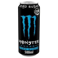 Monster Zero Sugar Energy Drink 12 x 500ml PM £1.35