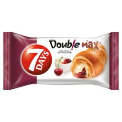 7 Days Double Max Vanilla & Cherry Croissant 80g